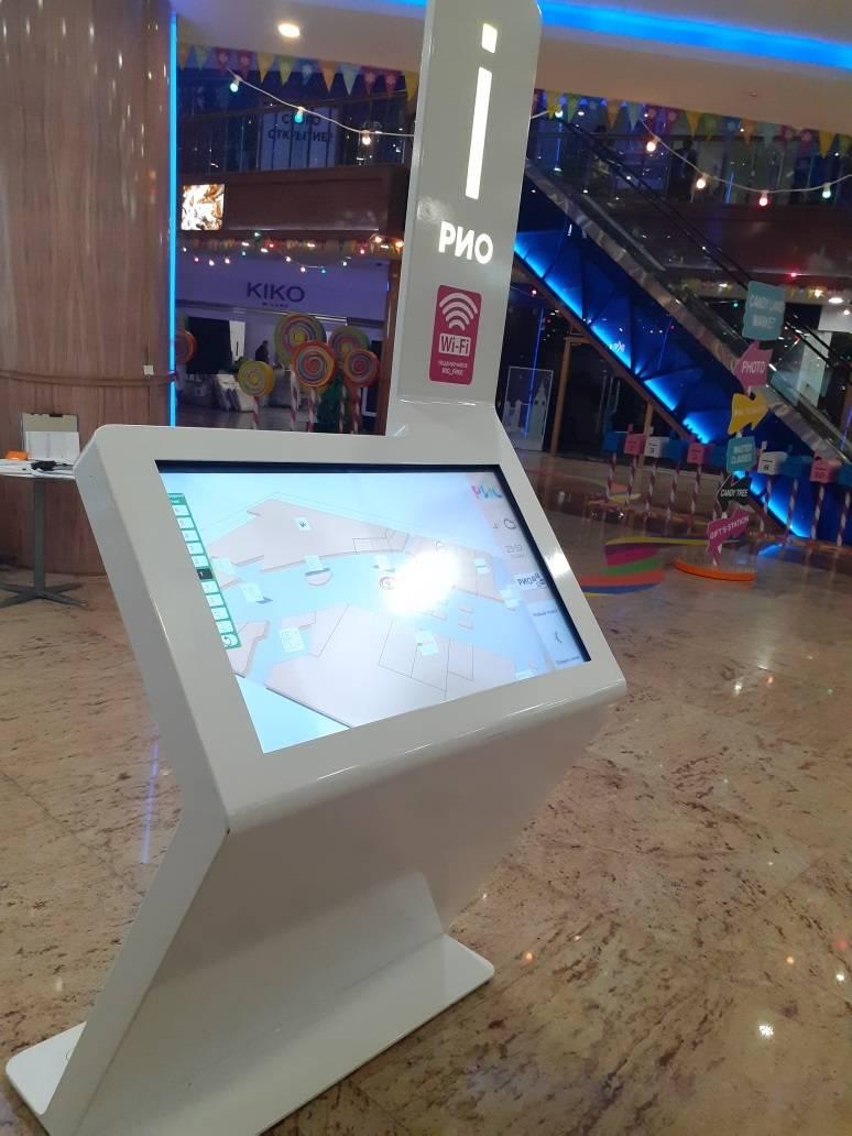 интерактивная навигационная тумба